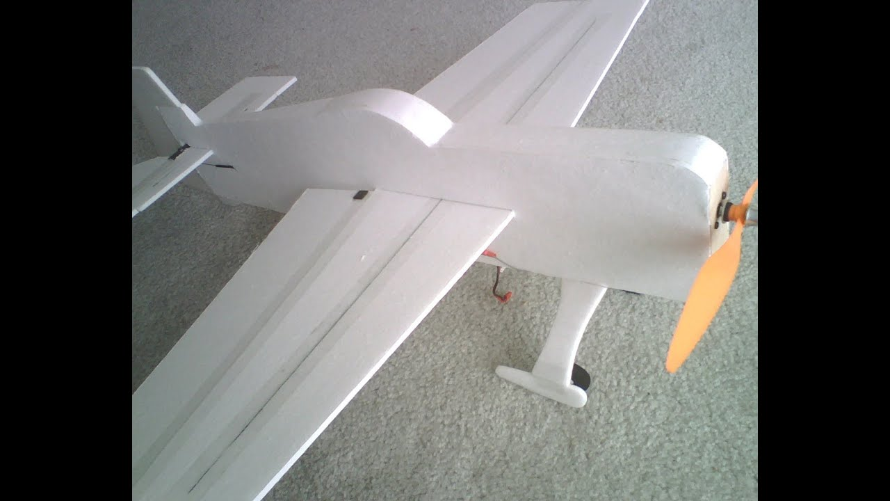 Making a 3D Foamy RC Airplane for Cheap! Plans to Maiden Flight