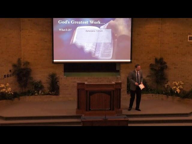 God's Greatest Work - 6-8-20 - church of Christ sermon