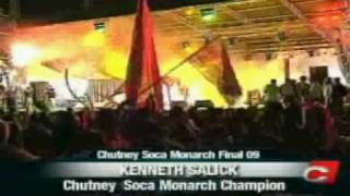 radica kenneth salick 2009 soca chutney monarch winner