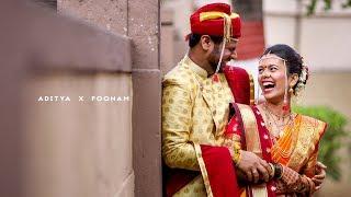 Tu Mala Mi Tula | Aditya x Poonam | Cinematic Marathi Wedding Film By Akshay Sansare