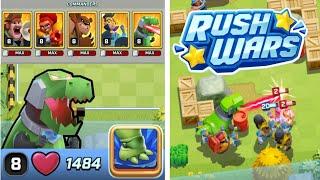 RUSH WARS - alle Commander und Truppen (Max Level)