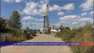 Le géothermie débute son développement des les Yvelines