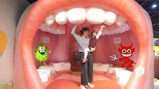 어린이 박물관에는 신기한게 너무 많아요!! 서은이의 인체박물관 병원 소방 체험 키즈 박물관 Kids Body Musuem