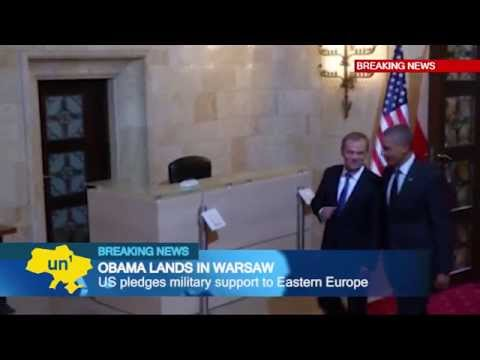 Obama in Warsaw: US President underlines support for European NATO allies against Russian threat