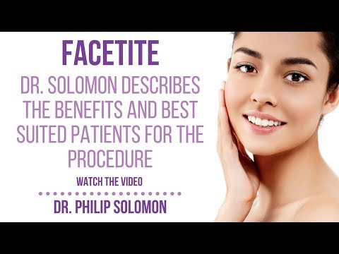 Facetite | Dr  Solomon - Cosmetic Facial Surgery | Toronto