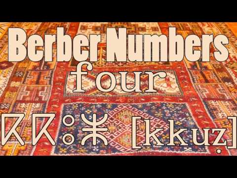 Berber Counting | Numbers 1-10 | ⵜⴰⵎⴰⵣⵉⵖⵜ