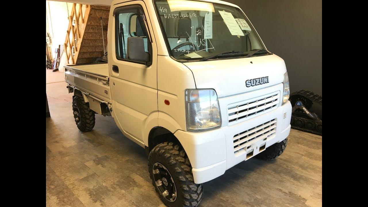 New & Improved Suzuki Carry DA63T Mini Truck! Overview And
