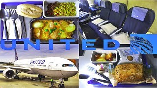 United Airlines ECONOMY London to Los Angeles|Boeing 777
