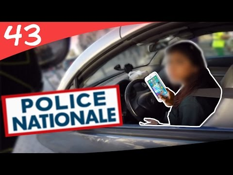 POLICE NATIONALE 🚨 Le Portable Madame ► VU À MOTO #43