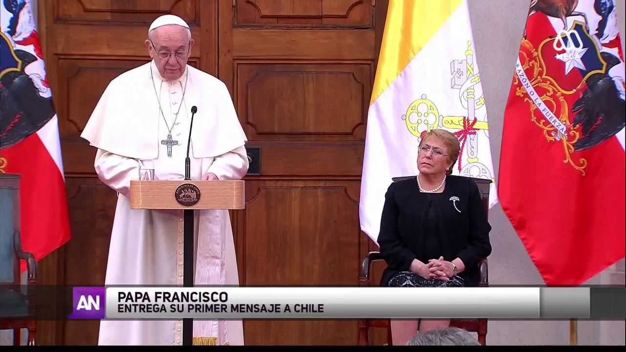 El Papa, en Chile