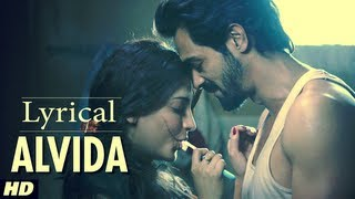 D Day Alvida Full Song With Lyrics | Rishi Kapoor, Irrfan Khan, Arjun Rampal