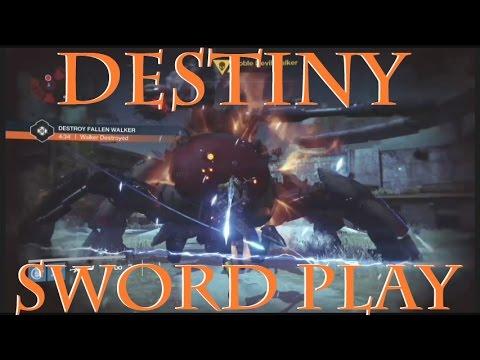 Destiny XCLG Short Short Sword Play