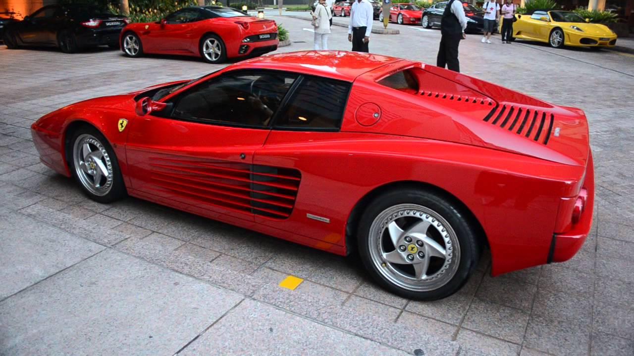Ferrari F512M Testarossa Startup - YouTube