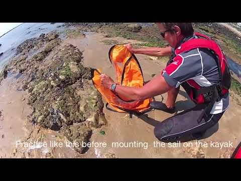 WestWind Kayak Sail Kit w/Bag