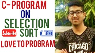 Selection sort in C- Programming