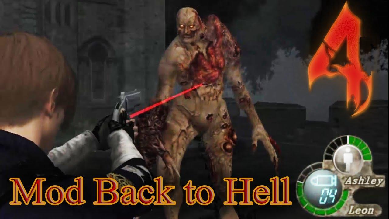 Resident Evil 4 Mod Back to Hell - Gameplay 08 - Reunião de Tyrants