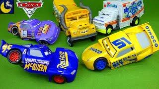 Disney Cars 3 Toys Race & Reck Fabulous Lightning McQueen Cruz Ramirez Miss Fritter Arvy Crash Toys! thumbnail