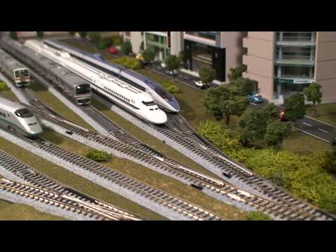 Kato City Layout – Japanese Model Train (N Scale)