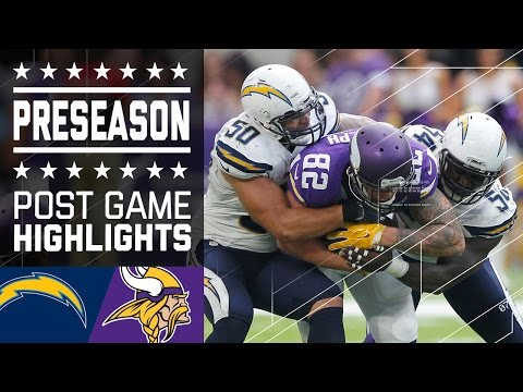 Chargers vs. Vikings   Post Game Highlights   NFL