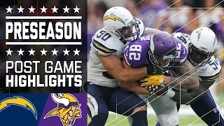 Chargers vs. Vikings | Game Highlights | NFL