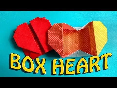 Origami: Heart Box & Envelope for Mothers Day