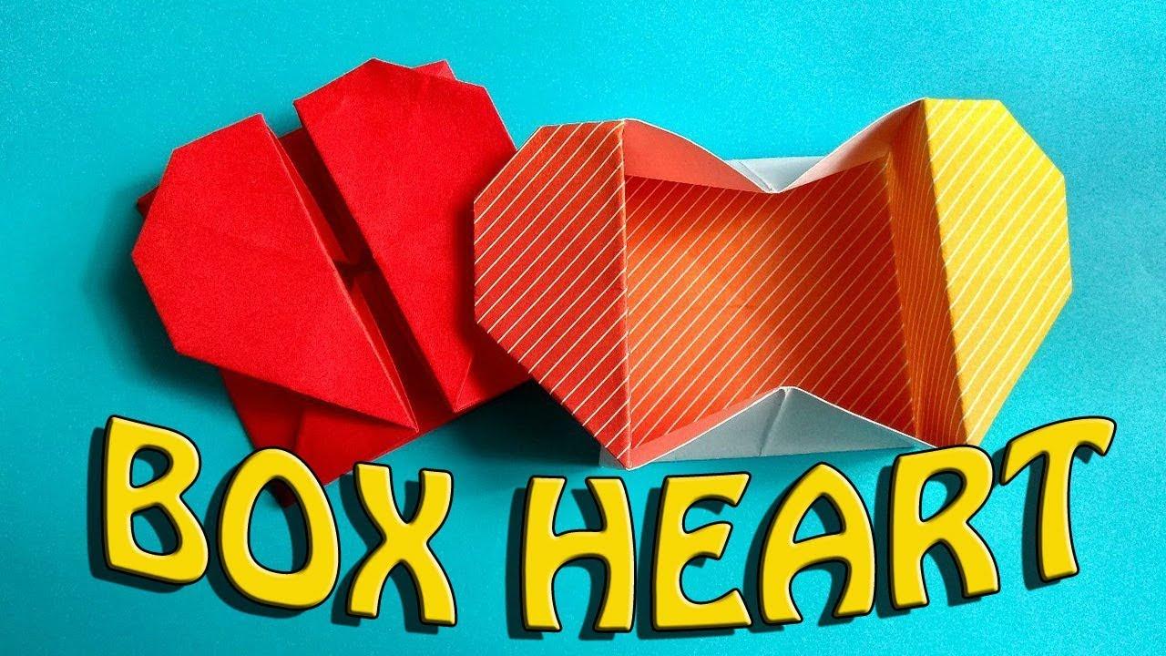 DIY Origami Heart Box- Secret Message (easy : 15 Steps - Instructables | 720x1280