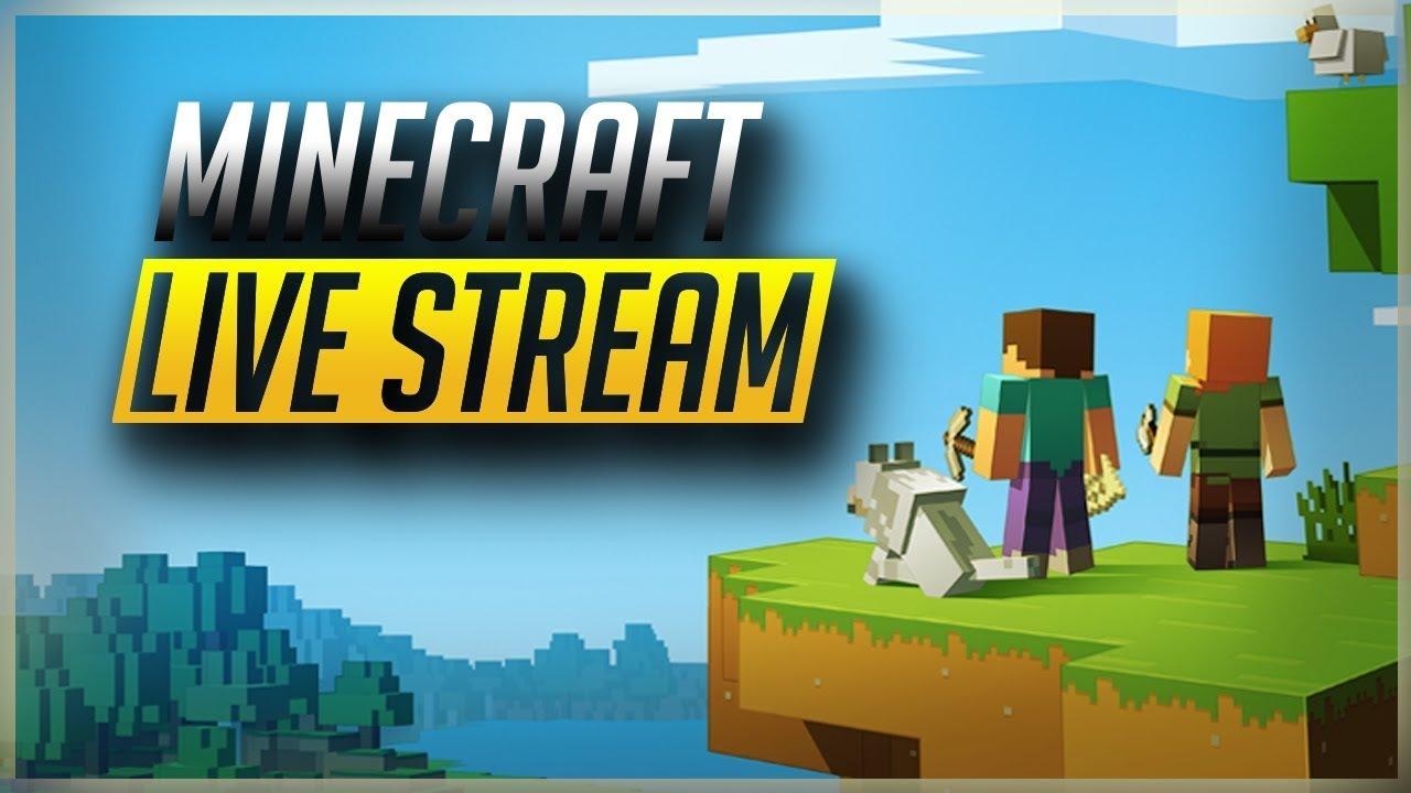 Minecraft Custom Skyblock Map Live Stream #13 YouTube