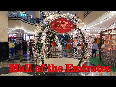 Winter Wonderland   Mall of the Emirates   Dubai 2020   AN Vlogs