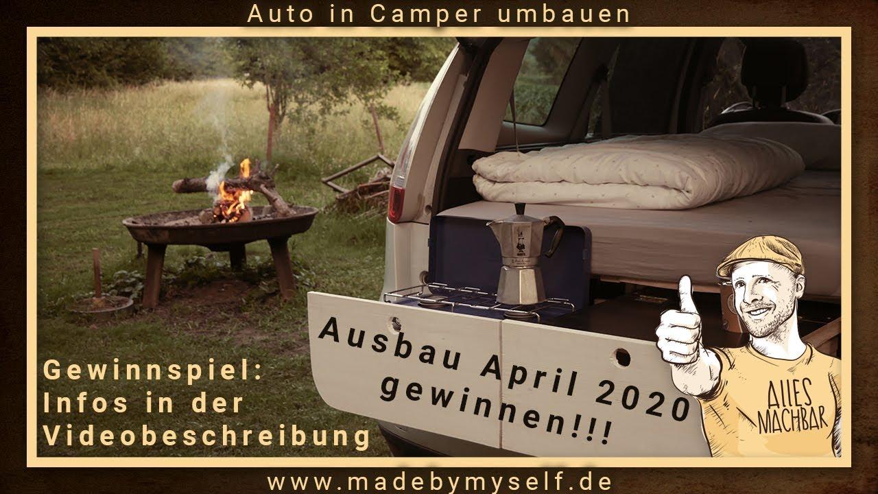 Ford Galaxy Camper Conversion >> MiniCamper Auto in Camper umbauen (5 Minuten!!!) Renault Scenic Car Camper Conversion Wohnmobil ...