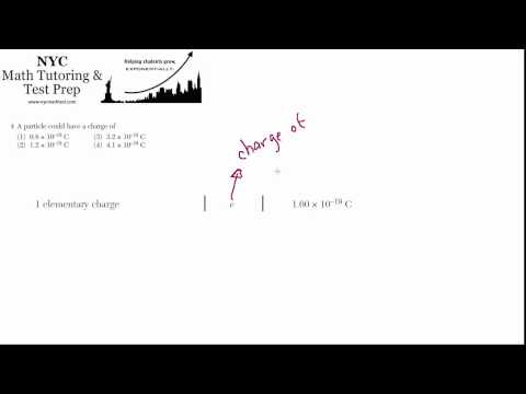 Physics Regents June2012 #04 - The Elementary Charge