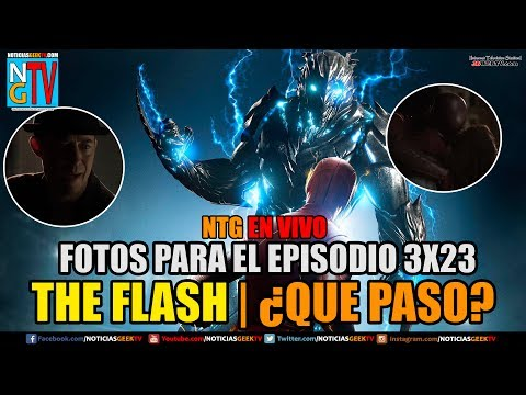 Flash final de la temporada 3 quien murio????l | Noticias Geek En VIVO