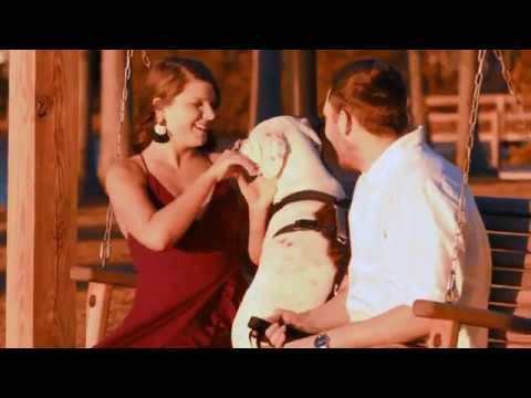 Adorable Engagement Film With Dog In Hartsville, SC