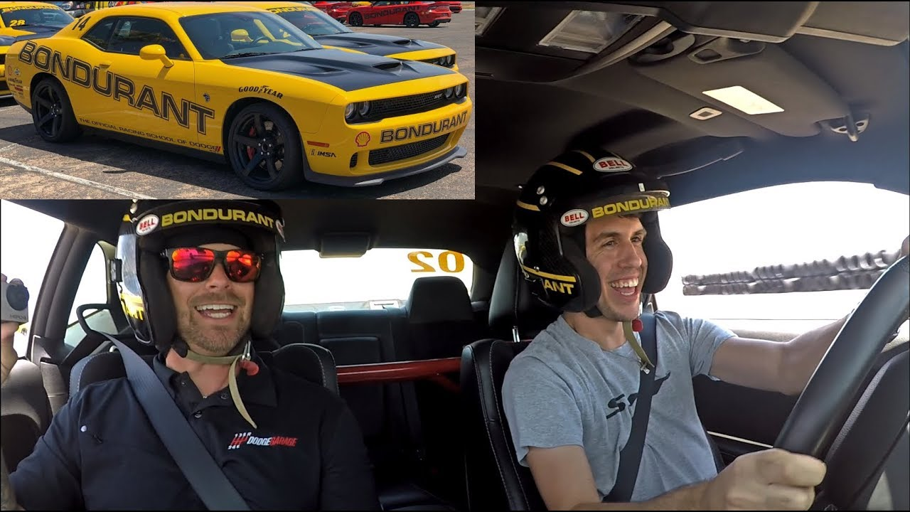 Racing School With A Manual Hellcat Ft Srtmush Youtube
