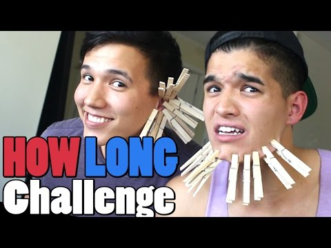 HOW LONG CHALLENGE! w/ LazyRon Studios