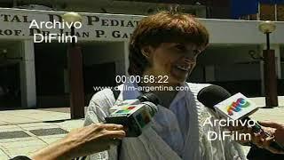Recuperacion de niño en el Hospital de Pediatria Juan Garrahan 1997