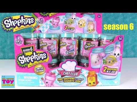 Shopkins Chef Club Season 6 2 Pack Jar...