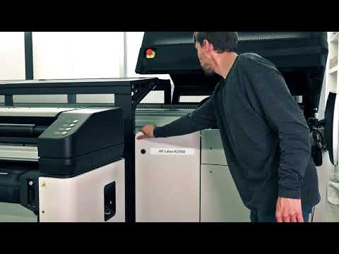 How To Replace the Printhead Cleaning Roll Station Pinchwheel on the HP Latex R Printer Series