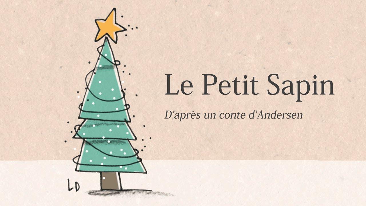 Conte de Noël   Le Petit Sapin d'Andersen   Français   YouTube