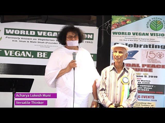 World Vegan Vision Organizes Global Peace Cruise 2019 - Flushing - New York