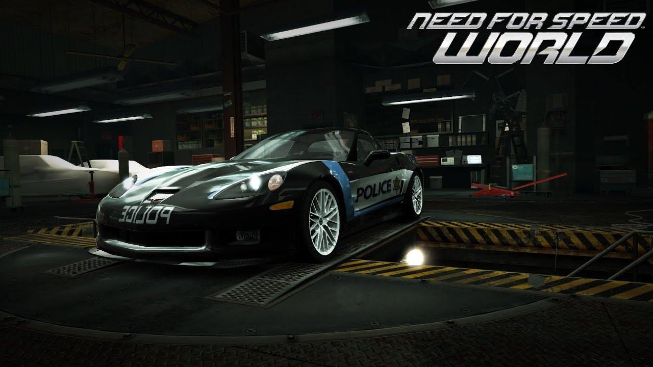 Crown Vic Police Car Wallpaper Need For Speed World Chevrolet Corvette Zr1 World Cops