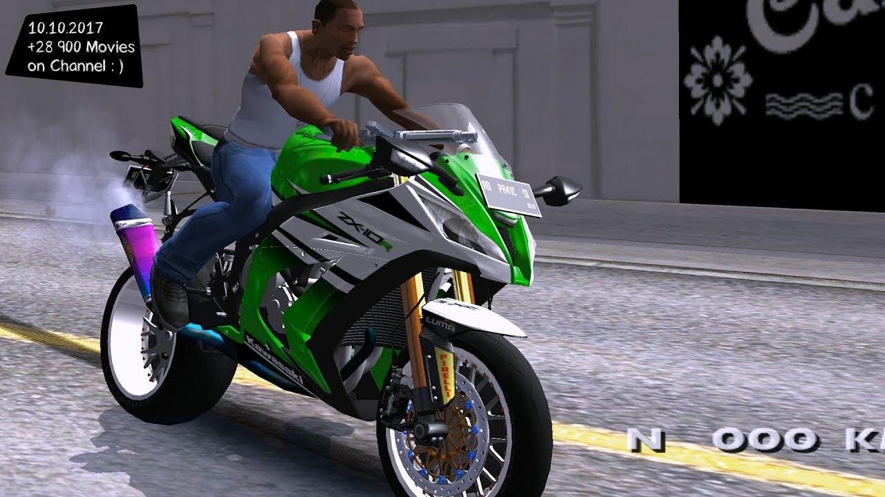 Kawasaki Ninja Zx 10r Ruff Ryder Grand Theft Auto V Vi Future