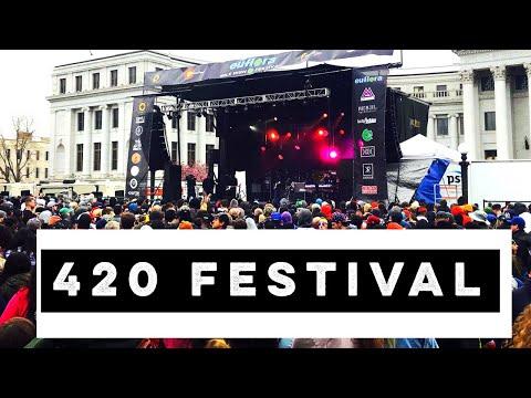 Mile High 420 Festival 😎✌️Denver 2018 Rally 🔥🤣 Lil Jon drops the baddest bass!
