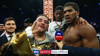Download Andy Ruiz Jr interrupts Anthony Joshua interview to demand THIRD fight following rematch defeat! Mp3 and Videos