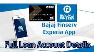 Bajaj Finserv Mobile App | Full Details of Loan Account & EMI | In HINDI|