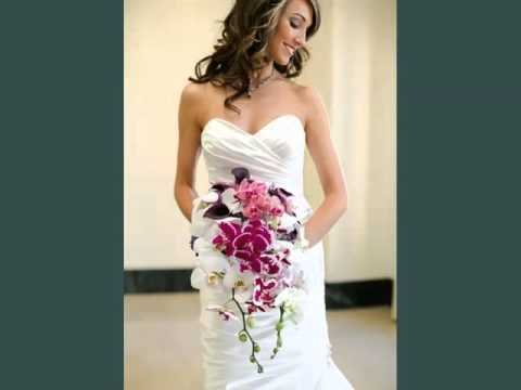 Purple Orchid And Rose Bouquet | Beautiful Collection Of Flower ...
