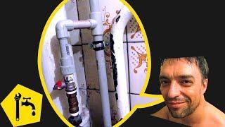 ✅ Замена трубы стояка на пластиковую трубу СМОТРИ И ДЕЛАЙ / Ремонт сантехники