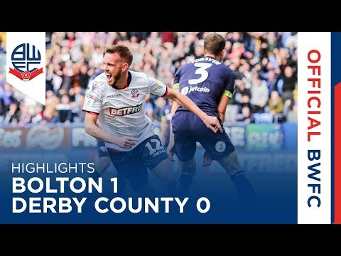 HIGHLIGHTS | Bolton Wanderers 1-0 Derby County