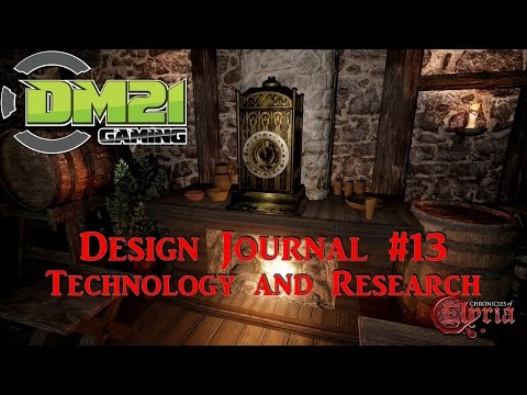 Chronicles Of Elyria: Design Journal #13 - Technology and Research