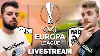 🔴 FIFA 21 EUROPA LEAGUE LIVESTREAM | TechItSerious