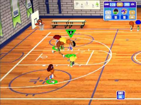 Merveilleux Backyard Basketball Season Playthrough: Game 1   Court Jesters Vs Monsters